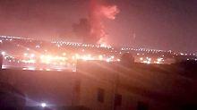 In der Nähe des Flughafens: Explosion erschüttert Kairo