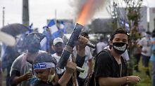 Kritik vom Auswärtigen Amt: Gewalt in Nicaragua reißt nicht ab