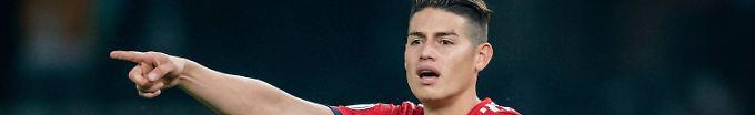 Der Sport-Tag: 11:08 Agentur bestätigt: James muss beim FC Bayern bleiben