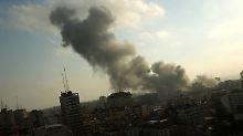 """""""Größter Angriff seit 2014"""": Israel fliegt Luftangriffe im Gazastreifen"""