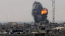 Heftiger Schlagabtausch in Gaza: Hamas: Feuerpause mit Israel vereinbart