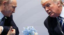 Putin laut Umfrage kompetenter: Deutsche finden Trump gefährlicher als Putin
