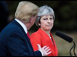"""Statt zäher Brexit-Verhandlungen: May: """"Trump riet mir, die EU zu verklagen"""""""