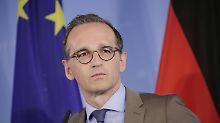 """""""Können Trump nicht aussitzen"""": Maas will Beziehung zu USA neu ausrichten"""