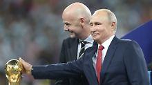 """""""Erfolg in jeder Hinsicht"""": Putin ist """"stolz"""" auf die WM"""