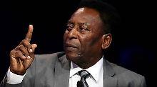Der Sport-Tag: 77-jährige Fußball-Ikone Pele droht Mbappe mit Comeback