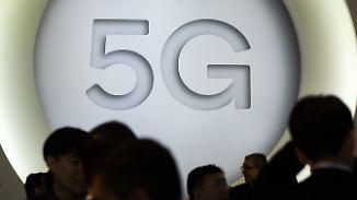 Versteigerung von 5G-Frequenzen: Mobilfunk-Riesen wollen Gegenleistung für Netzausbau
