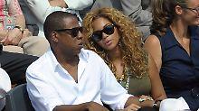 Der Sport-Tag: Jay-Z und Beyoncé euphorisieren Frankreich-Fans in Paris