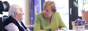 """""""Umfassende Berufsaufwertung"""": Merkel will höhere Löhne für Pflegekräfte"""