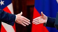 Wer zeigt, wo es langgeht?: Was die Körpersprache über Trump und Putin verrät