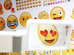 Die Welt der Emojis: Lachtränen werden am häufigsten verschickt