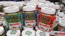 Werbung bei der Fußball-WM: Grüne reichen Beschwerde gegen Nutella ein