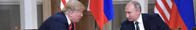 Der Tag: 17:02 Trump: Treffen mit Putin war noch besser als Nato-Gipfel