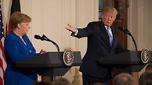 """""""Angela war ein Superstar"""": US-Präsident teilt gegen Merkel aus"""