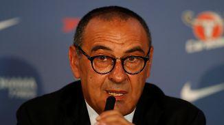 """""""Nennt mich Maurizio"""": Transfergerüchte langweilen neuen Chelsea-Coach Sarri"""