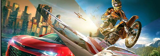 """Rasante Rennen, verrückte Ideen: """"The Crew 2"""" bietet Action und viel Spaß"""