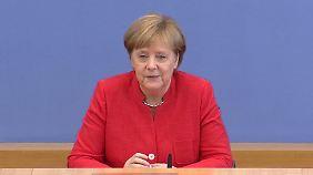 """Highlights von Merkels Sommer-Pk: """"Dann nähern wir uns sehr autokratischen Methoden"""""""