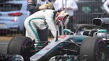 """""""Brutale Watsch'n bei Mercedes"""": Hamilton geht mit Wut auf Vettel-Jagd"""