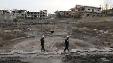 Rettung durch Militäraktion: Israel bringt syrische Weißhelme in Sicherheit