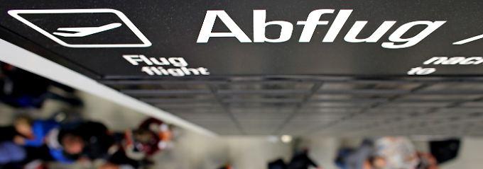 Wettbewerb drückt Preise: Flüge von deutschen Airports günstiger