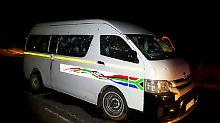 Elf Tote in Südafrika: Mehrere Taxifahrer bei Überfall ermordet