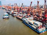 schiffsterminal in Guangzhou.