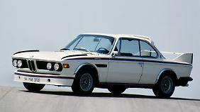 Ab 1973 gab es den BMW 3.0 CSL mit Aerodynamik-Teilen.