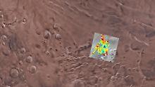 """""""Wir haben keine Zweifel mehr"""": See mit flüssigem Wasser auf Mars entdeckt"""