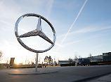 Überall Probleme: Daimler bricht der Gewinn ein
