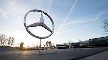 Prognose erneut gesenkt: Daimler gibt Gewinnwarnung heraus