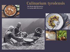 Das Buch beinhaltet 30 Rezepte von Spitzenköchen, dazu viel Wissenswertes über die Küche der Dolomiten.