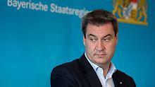 Kretschmann auf Platz eins: Söder ist unbeliebtester Ministerpräsident