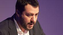 """""""Viel Feind, viel Ehr"""": Salvini provoziert mit Mussolini-Zitat"""