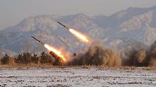 Reichweite bis USA: Baut Nordkorea Interkontinentalraketen?