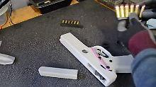 Waffen aus 3D-Druckern: Richter stoppt Bauplan-Veröffentlichung