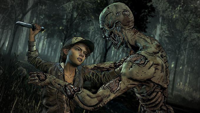 """""""The Walking Dead: The Final Season"""" ist ein Abenteuerspiel im Comic-Stil."""
