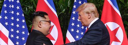 Auf Twitter bedankte sich Trump bei Kim Jong Un - und deutete ein weiteres Treffen mit dem nordkoreanischen Machthaber an.