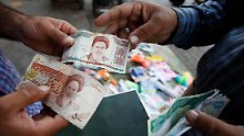 Der iranische Rial hat massiv an Wert verloren.