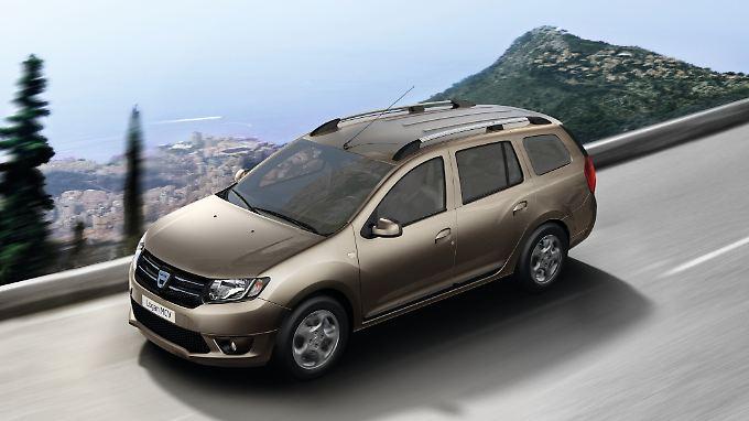 Das Dacia Logan MCV braucht sich optisch nicht mehr zu verstecken.