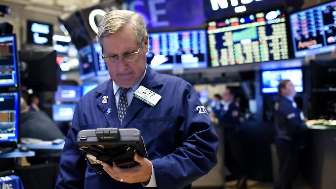 Der schwelende Handelsstreit mit China sorgt an den US-Börsen für eine schlechte Stimmung.