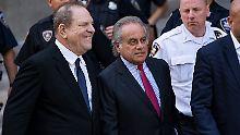 E-Mails von mutmaßlichem Opfer: Weinstein-Anwalt sieht Unschuld bewiesen