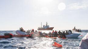 """""""Weltweit gefährlichste Seeroute"""": Im Mittelmeer sterben so viele Menschen wie noch nie"""