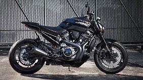 Auch einen echten Streetfighter wird es im Harley-Portfolio geben.