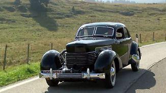 Traum oder Albtraum der 30er-Jahre?: Cord 812 S/C fällt mit abgefahrenem Design auf