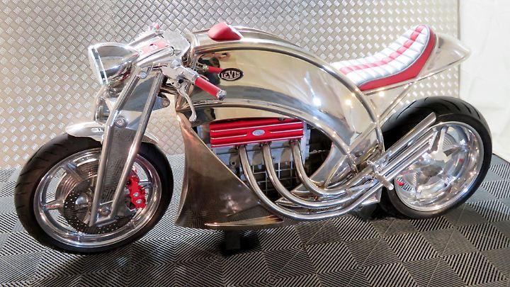Im Frühjahr 2019 will Levis Motorcycles seinen V6 Café Racer auf den Markt bringen.