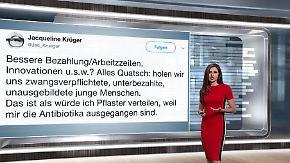 n-tv Netzreporterin: #Wehrpflicht stößt im Netz auf Häme und Zustimmung