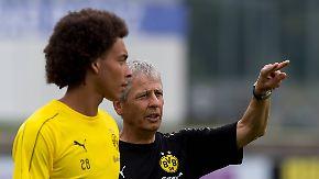"""""""Jetzt geht's aufwärts"""": Axel Witsel läuft zum ersten BVB-Training auf"""