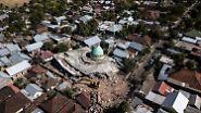 Hunderte Tote in Indonesien: Auf Lombok bebt es weiter