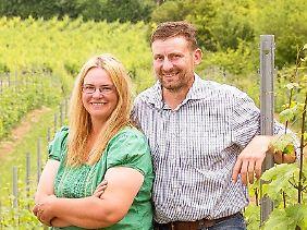 Das Weingut von Marco und Alexandra Becker liegt in Ebersheim, einem Mainzer Vorort.