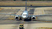 Viele Ryanair-Maschinen bleiben am Boden.